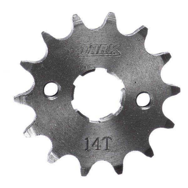 Pinhão 14 Dentes Aço Cromado Suzuki Yes 125