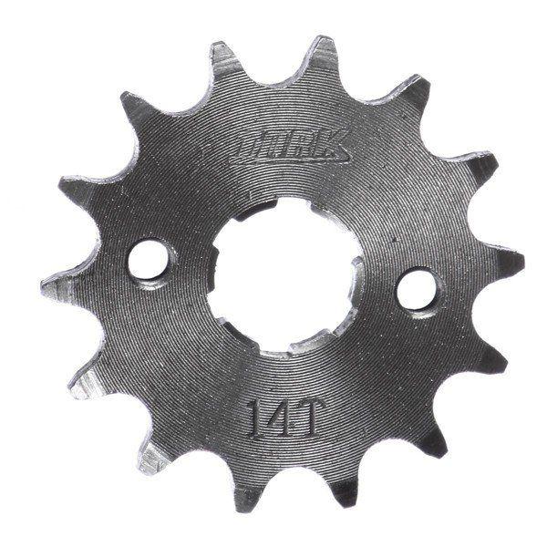 Pinhão 14 Dentes Aço Cromado Yamaha Xtz 125