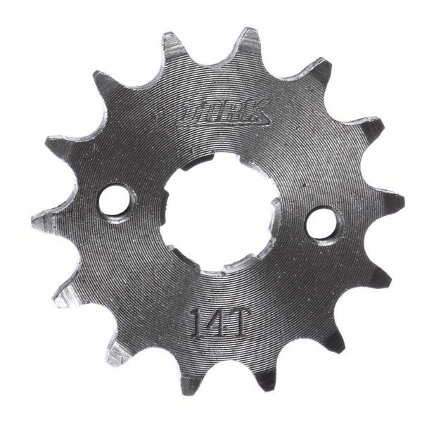 Pinhão 14 Dentes Aço Cromado Suzuki Katana 125