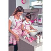 Avental Infantil Estampado Barbie Chef