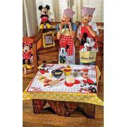 Avental Infantil Estampado Mickey Mouse