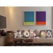 Capa para Almofada Jacquard 43x43 | Jacquard Tecidos