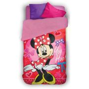 Coberdrom Fleece Dupla Face Minnie com 1 peça | Lepper
