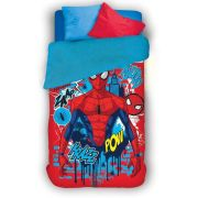 Coberdrom Fleece Dupla Face Spider Man com 1 peça | Lepper