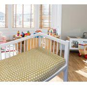 Coberto Baby 110 x 90 Microfibra Poa Camesa - BEGE
