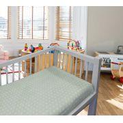 Coberto Baby 110 x 90 Microfibra Poa Camesa - VERDE