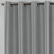 Cortina Blackout Tecido 1,40x1,80 Cinza Escuro 1 folha