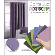 Cortina Corta Luz Blackout 1,40x2,50 Collors  Admirare