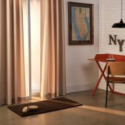 Cortina Curta Corta Luz Nova York Dupla Face 2,80 x 1,80m Santista