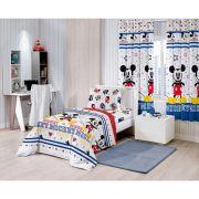 Cortina  Infantil Curta Disney Michey  2,80x1,80m Santista