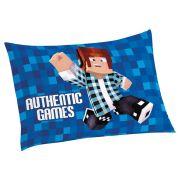 Fronha Avulsa Authentic Games 50 cm x 70 cm Com 1 peça