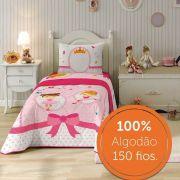 Jogo de Cama 100% Algodão Solteiro Ballet 05905701 | Lepper