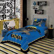 Jogo de Cama Batman Solteiro 3 peças Lepper