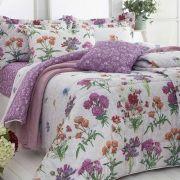 Jogo de cama 3Pçs Solteiro Realce Premium Sultan ADRIANA