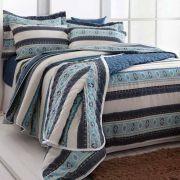 Jogo de cama 3Pçs Solteiro Realce Premium Sultan CALEB