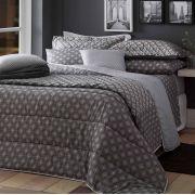 Jogo de cama 3Pçs Solteiro Realce Premium Sultan HUGO