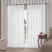 Kit 3 Cortinas Barcelona 300x250 | Admirare