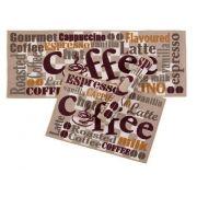 Kit Tapete Cozinha Gourmet 3 Pecas Coffee Corttex Casa