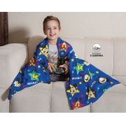 Manta Fleece de Sofá Mickey 1,25m x 1,50m Lepper