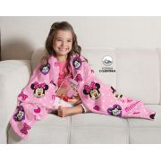 Manta Fleece de Sofá Minnie 1,25m x 1,50m  Lepper