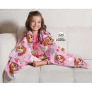 Manta Fleece de Sófa Patrulha Canina Menina 1,25x1,50 Lepper