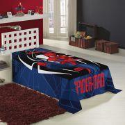Manta Fleece Solteiro Spider Man 1,50 x 2,20m Lepper