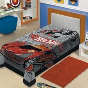 Manta Infantil de Microfibra Hot Wheels| Jolitex