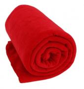 Manta Microfibra Jolitex King 2,20 x 2,40 Dyuri Scarlet