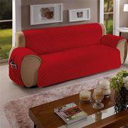 Protetor Para Sofa 3 Lug Vermelho Face Unica