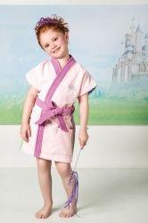 Roupão Aveludado Verão Transfer Princesas | Lepper