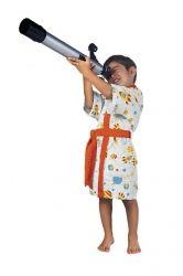 Roupão Felpudo Infantil Quimono Astronauta | Lepper