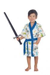 Roupão Felpudo Infantil Quimono Cavaleiro | Lepper
