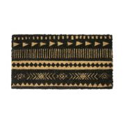 Tapete Avulso Kerala Black 33 X 60 - Tribal