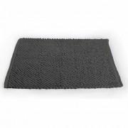 Tapete de Banheiro Antiderrapante Micropop Cinza Camesa