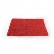 Tapete de Banheiro Antiderrapante Micropop Vermelho Camesa