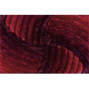 Tapete de Sala 3D  200 x 250 cm Star Pelo Alto Degrade Vermelho
