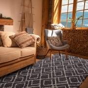 Tapete de Sala e Quarto Pelo Alto Riviera Pinhais Savana 1,50x2,00 Jolitex