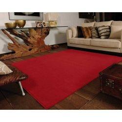 Tapete de Sala Super Macio 90x150 Vip Vermelho | Jolitex