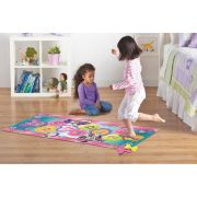Tapete Infantil Disney 0,66x1,48 Minnie Amarelinha c/ Brinquedo Corttex