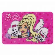Tapete Mattel Barbie e os Bichinhos 070X110 Jolitex