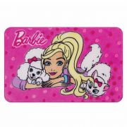 Tapete Mattel Barbie e os Bichinhos 070X110 Jolitex