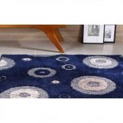 Tapete Para Sala e Quarto 150x200 Jazz Oasis Des 01 Azul