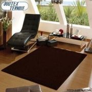 Tapete Peludo 150 X 100 Realce Chocolate | Jolitex