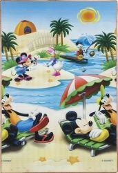 Tapete Recreio Carros / Mickey 120x180 | Jolitex