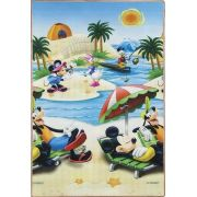 Tapete Recreio Carros / Mickey 120x180 | Jolitex