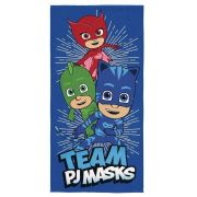 Toalha Aveludada Estampada PJ Masks | Lepper