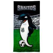 Toalha Aveludada Time de Futebol - Santos 61610 Buettner