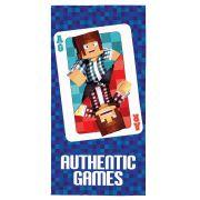 Toalha Aveludada Transfer Authentic Games c/ 1 Pç Lepper