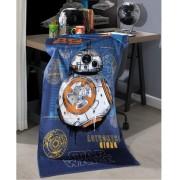 Toalha de Banho Star Wars Azul Aveludada 100% Algodão Dohler