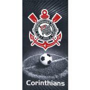 Toalha de Praia Velour Corinthians | Dohler